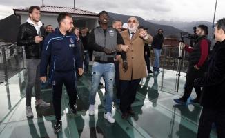 Trabzonspor'a Gümüşhane'de sevgi seli