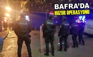 Bafra'da Huzur Operasyonu