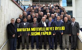 Bafra'da Mütevelli Heyet Üyeliği Seçimi Yapıldı