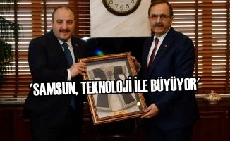 Başkan Zihni Şahin, Bakan Mustafa Varank'ı Ağırladı