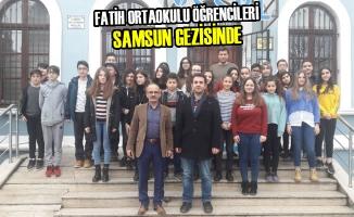 Fatih Ortaokulu Öğrencileri Samsun Gezisinde