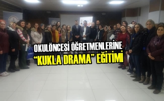 """Okulöncesi Öğretmenlerine """"Kukla Drama"""" Eğitimi"""