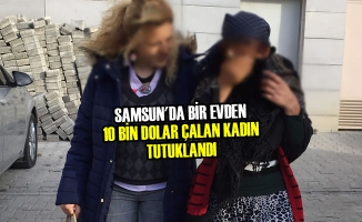 Samsun'da 10 Bin Dolar Çalan Kadın Tutuklandı