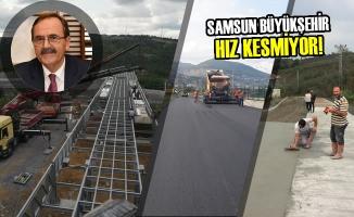 Samsun'da, 1 Milyar 152 Milyon Liralık Yatırımlar Devam Ediyor
