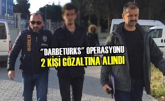 """Samsun'da """"Darbeturks"""" Operasyonu 2 Kişi Gözaltına Alındı"""