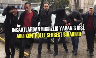Samsun'da İnşaatlardan Hırsızlık İddiası