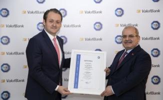 VakıfBank'a iş sağlığı ve güvenliği yönetimi sertifikası