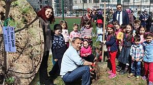 29 Ekim İlkokulu'ndan Orman Haftası Etkinliği