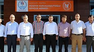 Ak Parti İlçe Teşkilatından Kurum Müdürlerine Ziyaret
