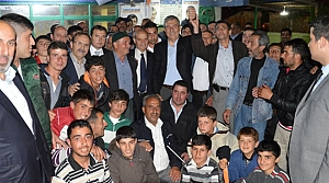 AK Parti Mahalle Mitinglerine Devam Ediyor