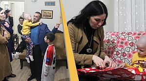 AK Parti'li Karaaslan'dan Felçli Kıza Moral Ziyareti