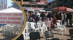 Alaçam'da 2. Çeltik Hasadı ve Pilav Günü