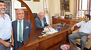 Arap Yatırımcı; Başkan Yılmaz'ı Ziyaret Etti