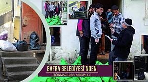 Bafra Belediyesi'nden Sığınmacılara Yardım Eli