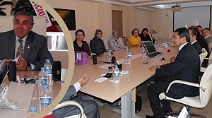 Bafra MHP'den Halis Kaymakam'a Ziyaret