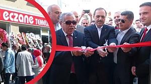 Bafra'da 'Eczane Temelkaya' Hizmete Açıldı