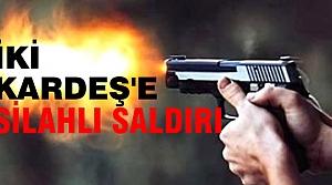 Bafra'da İşadamı İki Kardeş'e Silahlı Saldırı