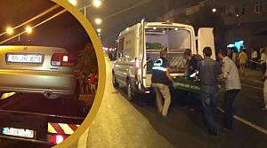Bafra`da Trafik Kazası; 1 Ölü, 2 Yaralı