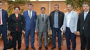 Bafra'lı Sigortacılardan TSO'ya Ziyaret