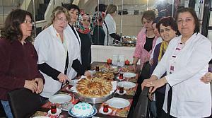 Bafra'nın Hünerli Hanımları Pasta Ustası Oluyor
