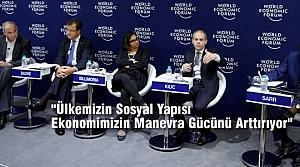 Bakan Kılıç Dünya Ekonomik Forumu'nda Konuştu