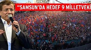 Başbakan Ahmet Davutoğlu Samsun'da Konuştu