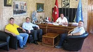 Başkan Dalgıç'tan İlçe Ve Beldelere Ziyaretler