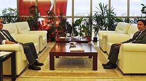 Başkan Hüseyin Kıyma'dan Rektör Bilgiç'e Ziyaret