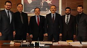 Başkan Şahin'den Bara Başkanı Gürbüz'e Ziyaret