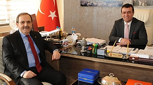 Başkan Şahin'den Başkan Taşçı'ya Ziyaret