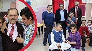 Başkan Şahin'den Özel Eğitim Uygulama Merkezi'ne Ziyaret