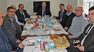 Başkan Şahin'den Pancar Ekicileri Kooperatifi'ne Ziyaret