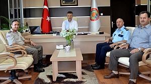 Başkan Topaloğlu Ziyaretçilerini Ağırladı