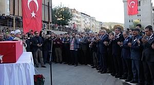 Başkan Yılmaz, Koca'nın Cenazesine Katıldı