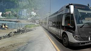 """Başkan Yılmaz: """"Metrobüs'de İlk Sefer Haziran 2015'de"""""""