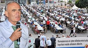 """Başkan Yılmaz, """"Ramazan, Sofralar Paylaşıldıkça Güzelleşiyor"""""""