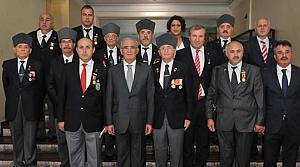 Başkan Yılmaz Şehit ve Gazi Derneklerini Kabul Etti