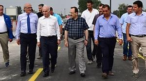 Başkan Yılmaz Vali Şahin'e Köprüyü Gezdirdi