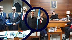 Başkan Zihni Şahin Bafra İçin Ankara'da
