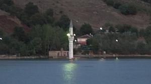 Batık Minare Manzarası İlgi Görüyor