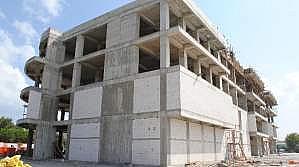 Belediyenin Yeni Hizmet Binasının Yapımı Tamamlanıyor