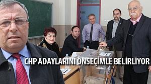 CHP Bafra Teşkilat Üyeleri Önseçim'e Katılıyor