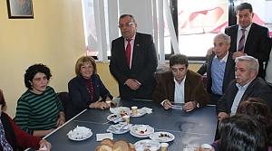 CHP Kadın Kolları Kahvaltıda Buluştu