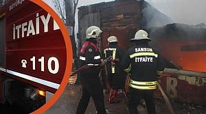 Çilhane Mahallesi'nde Çıkan Yangın Korkuttu