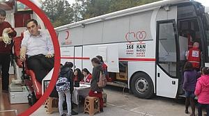 Cumhuriyet Ortaokulu; Kan Bağışında Bulundu
