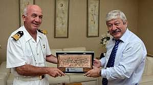Emekli Komutandan Veda Ziyareti