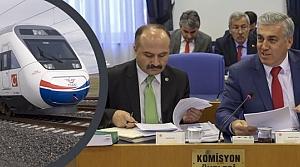 """Erhan Usta; 'Samsun-Ankara Hızlı Tren İhale Sürecinde"""""""