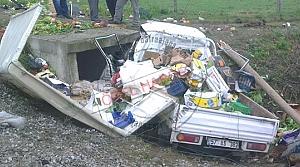 Etyemez Mahallesi Mevkiinde Trafik Kazası; 1 Yaralı
