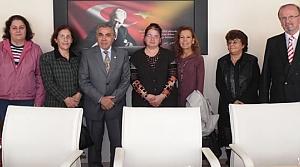 Fatma Filiz Özkaya'dan Kaymakam Arslan'a Ziyaret