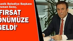 """Genç; """"Daha Güçlü Türkiye İçin Evet Diyeceğiz"""""""